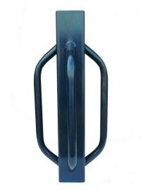 Palenrammer / Handhei 750x100x100 Blauw, 4 handvatten.
