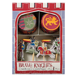 Brave knights cupcakes
