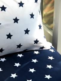 Grote sterren blauw en wit