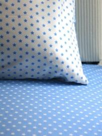 Sterren lichtblauw en wit