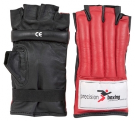 Precision Boxing Fingerless Punchbag Mitts