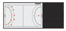 Zaalhockey Coachmap Deluxe