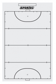 Sportec Coachbord light hockey met clip