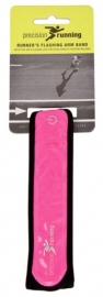 Precision reflecterende hardloop armband