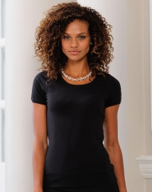 Russell short sleeve stretch top