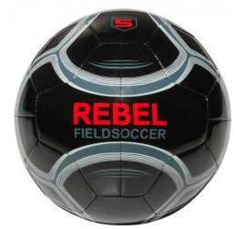 Rebel fieldsoccer bal zwart/grijs