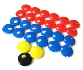 Magneten voor tactiekbord (3 maten)