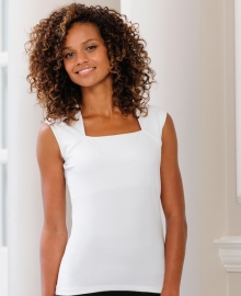 Russell Sleeveless stretch top