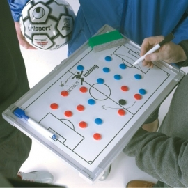 Tactiekbord voetbal dubbelzijdig (60cm x 90cm)