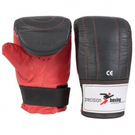 Precision Boxing Leather Punchbag Mitts