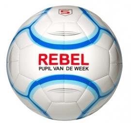 Rebel Pupil van de week voetbal blauw