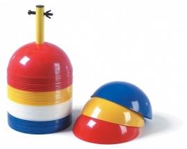 Markeerbollen vier kleuren (40 stuks)