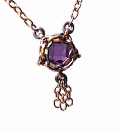 Ketting - Purple