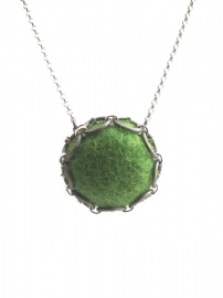 Ketting Like A Feather - greenery