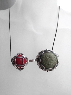 Ketting - Natural Red - Olive
