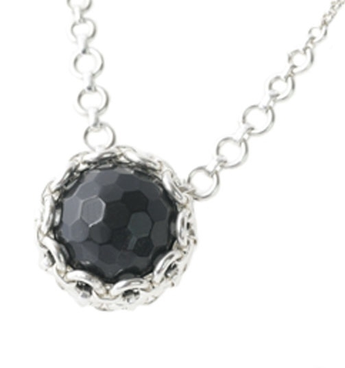 Ketting glamour - onix facet
