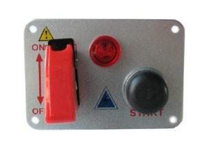 startpaneel met startknop