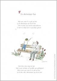 Wenskaart 'De allerleukste opa'