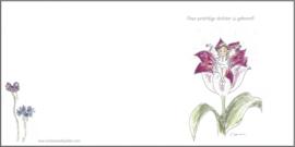 Geboortekaartje `Tulpenelf`