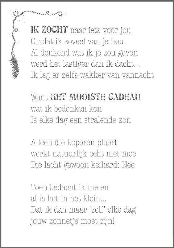 Feather Wenskaart: Het mooiste cadeau