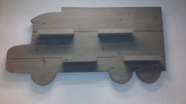 Wandbord Vrachtwagen Grey Wash