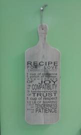 Broodplank: Recipe for love