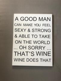 Sale A good man