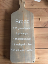 Sale broodplank brood