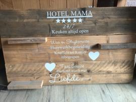 Sale wandbord hotel mama
