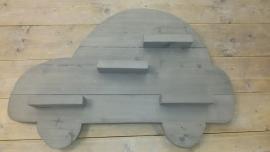 Wandbord auto grey wash