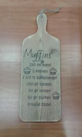 Broodplank: Muffins