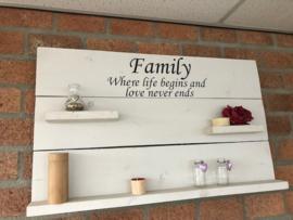 Sale wandbord family