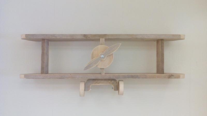 Steigerhouten wandvliegtuig (gebruikt)