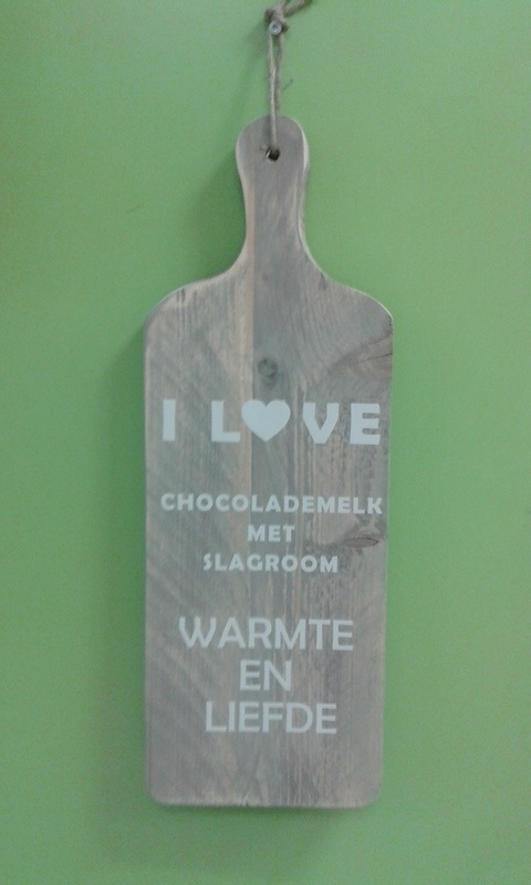 Broodplank: I love