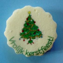 Vrolijk kerstfeest met boom
