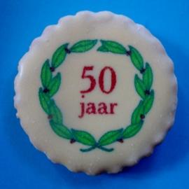 50 jaar met krans