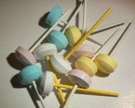 Dextrose Lollies, ca 95 stuks
