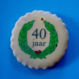 40 jaar met lauwerkrans