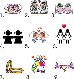 Bruidspaar vrouw/vrouw