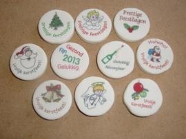 Kerstmix bestaande uit 10 verschillende afbeeldingen voor Kerst en Jaarwisseling