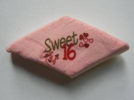 Sweet sixteen hartjes