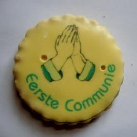 Eerste communie handen