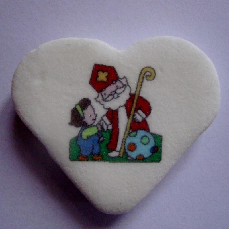 Sinterklaas met een kind