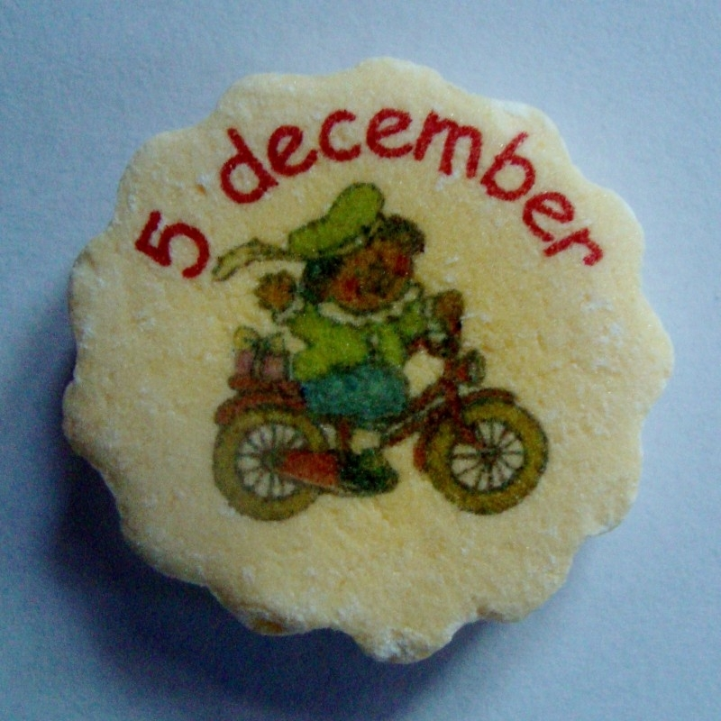 Zwarte Piet ging eens fietsen