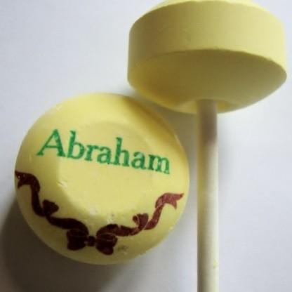 Abraham met strik