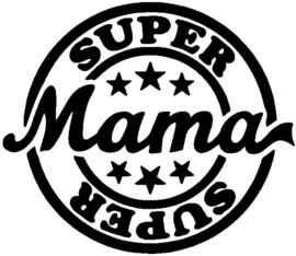 Super mama stempel