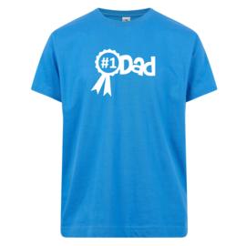 T-shirt: Nummer 1 dad