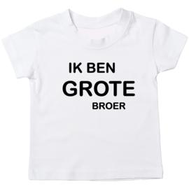 Kinder T-shirt: Ik ben grote broer