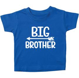 Kinder T-shirt: Big brother met pijl