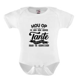 Baby romper: Hou op Ik heb een gekke tante en ben niet bang om haar te gebruiken